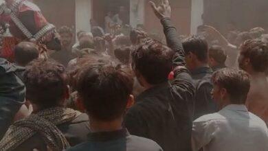 جوھر آباد جلوس پر حملہ