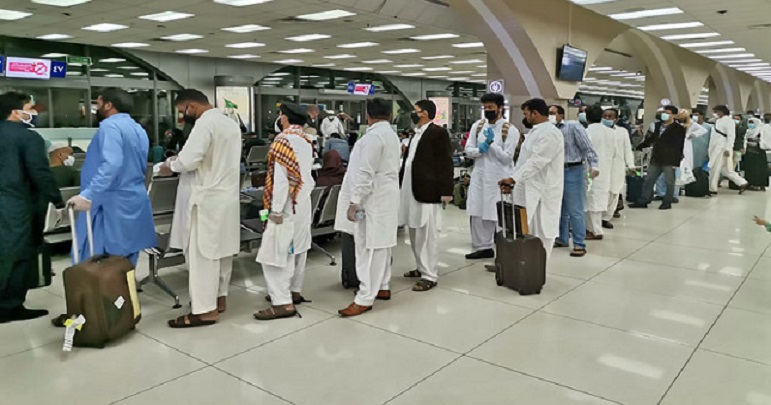 سعودی عرب میں مقیم پاکستانیوں کو ڈی پورٹ کئے جانے کے احکامات جاری