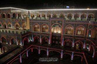 نجف: حرم حضرت امیر المومنین علیہ السلام میں صحن حضرت فاطمہ زھرا (س ) افتتاح کے بعد زائرین کے لئے کھول دیا گیا