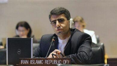 ایران کے مستقل مندوب اسماعیل بقائی ہامانہ