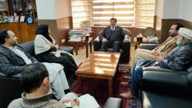 ایم ڈبلیوایم کےاراکین اسمبلی کی وائس چانسلر علامہ اقبال اوپن یونیورسٹی سے ملاقات