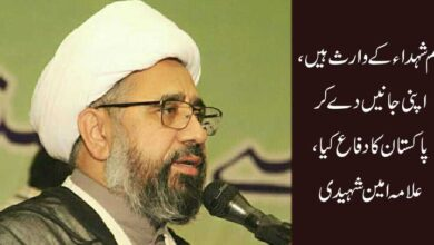 ہم شہداء کے وارث ہیں، اپنی جانیں دے کر پاکستان کا دفاع کیا
