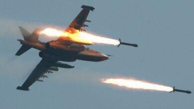 روس اور شامی طیاروں کی دہشت گردوں کے ٹھکانوں پر بمباری