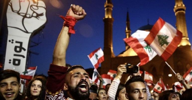 لبنان میں سیاسی عدم استحکام، مختلف شہروں میں احتجاج کا سلسلہ جاری