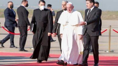 پوپ فرانسس کا تین روزہ دورہ عراق مکمل، بغداد سے ویٹیکن روانہ