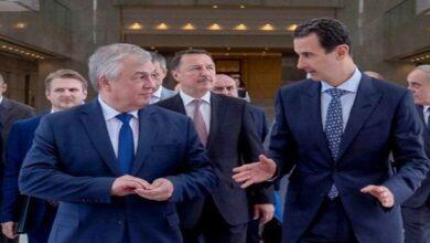 روسی صدر کے خصوصی ایلچی کی شامی صدر سے ملاقات