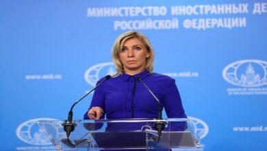 روسی وزارت خارجہ کی ترجمان ماریہ زاخارووا