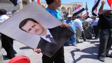 شامی عوام کا اسرائیل کے خلاف اور صدر بشارت اسد کے حمایت میں مظاہرے