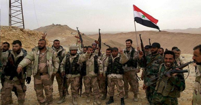 شام: امریکہ حمایت یافتہ دہشتگردوں اور شامی فوج میں جھڑپیں