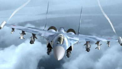 شام میں روسی فضائيہ کے حملے میں 200 دہشت گرد واصل جہنم