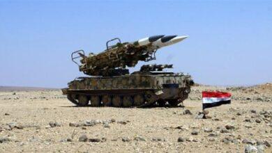 شام پر اسرائیلی فضائی حملہ ناکام