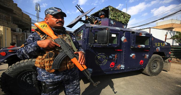 عراقی فورسز کی کاروائی داعش کا سرغنہ گرفتار