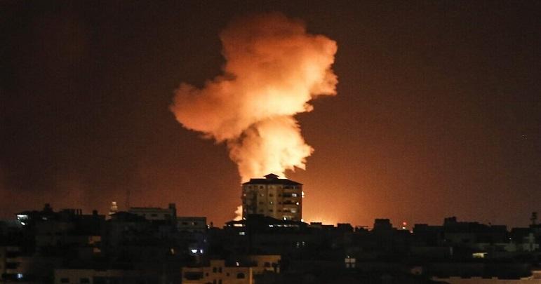 فلسطین؛ اسرائیلی فوجی چوکی نذر آتش