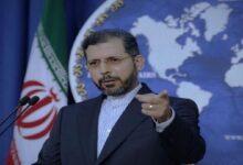 ایرانی حکومت اور عوام فلسطینی عوام کے ساتھ کھڑے ہیں: ایران
