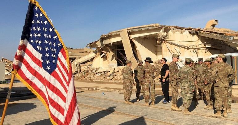 بغداد ائیر پورٹ کے قریب امریکی فوجی اڈے پر راکٹوں سے حملہ