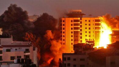 غزہ پر اسرائیل کی جارحیت اور بربریت گیارہویں روز بھی جاری
