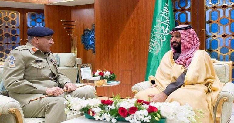 چیف آف آرمی اسٹاف سرکاری دورے پر سعودی عرب پہنچ گئے