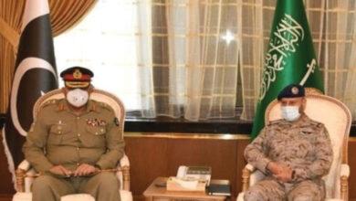آرمی چیف کی سعودی جوائنٹ چیف آف جنرل سٹاف سے ملاقات