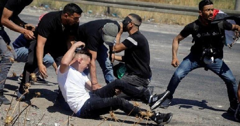 اسرائيلی فوج کی فائرنگ سے مغربی پٹی میں 110 فلسطینی زخمی