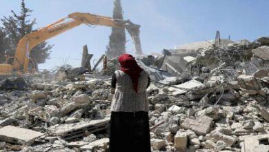 اسرائیلی مظالم جاری، 72 فلسطینی گھر مسمار