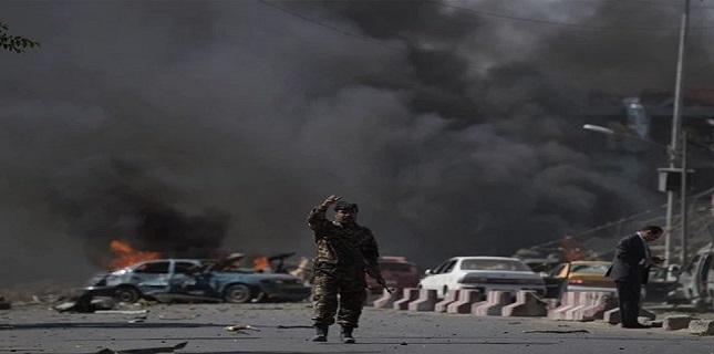 افغان صوبے بغلان میں کاربم دھماکہ 16 اہلکار ہلاک