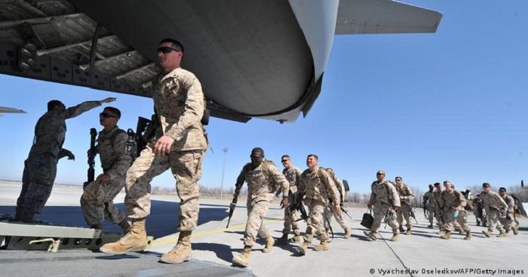 بگرام ایئربیس سے امریکی فوجیوں کا انخلا