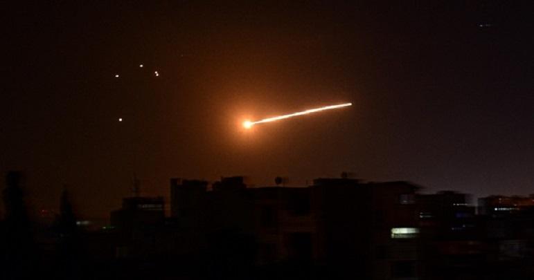 شام، حمص میں دھماکہ، اسرائیلی میزائل فضاء میں تباہ