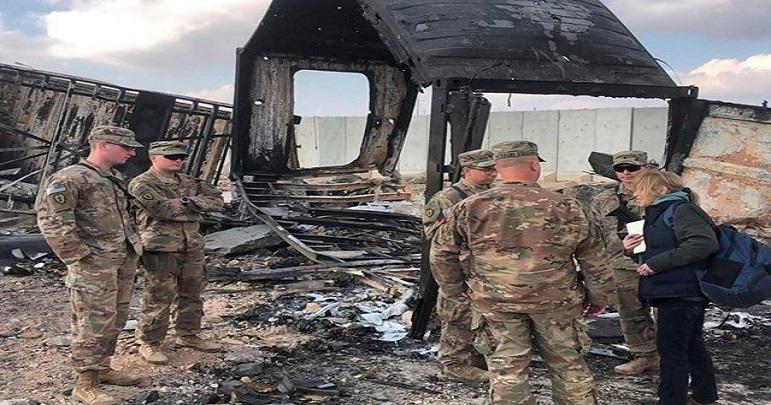 عراق میں امریکی فوجی ٹھکانے پر ڈرون حملہ