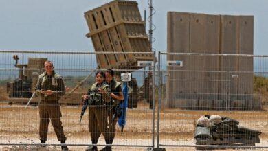 غزہ کے قریب میزائل دفاعی سسٹم کی تنصیب