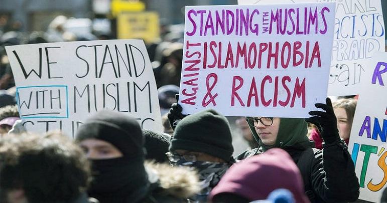 مسلمان خاندان سے اظہار یکجہتی کے لیے کینیڈا کے مختلف شہروں میں مظاہرے