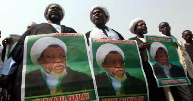 نائیجریا میں شیخ زکزکی کی رہائی کیلئے مظاہرے