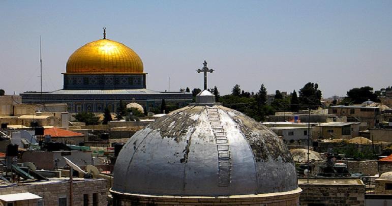 القدس کے عیسائیوں کے خلاف امریکی اور اسرائیلی سازش بے نقاب