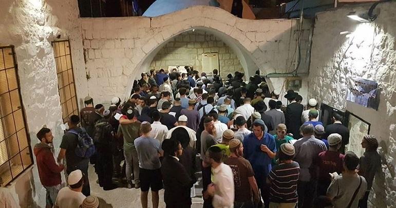 تین ہزار یہودی شرپسندوں کا حضرت یوسف علیہ السلام کے مزار پر دھاوا