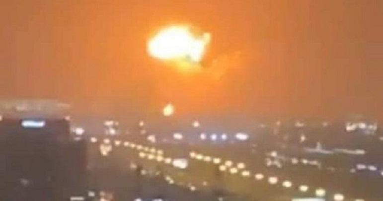 دبئی پورٹ پر خوفناک دھماکہ، ویڈیو جاری