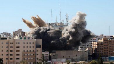 صیہونی جنگی طیاروں کی غزہ پر تازہ حملہ
