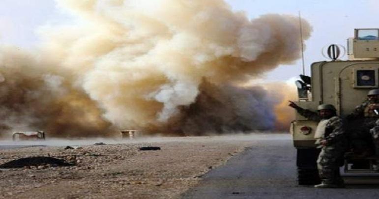 عراق میں امریکی فوجی کاروان پر حملہ