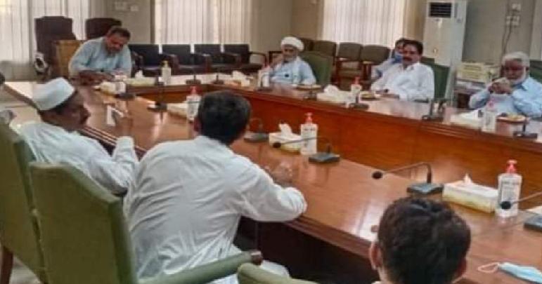ڈی آئی خان، شیعہ عمائدین کی کمشنر سے ملاقات