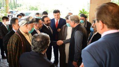 افغان رہنما وفد کی وزیر خارجہ شاہ محمود قریشی سے ملاقات