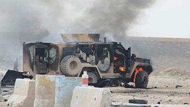عراق میں امریکا کے دو فوجی کانوائے پر حملہ