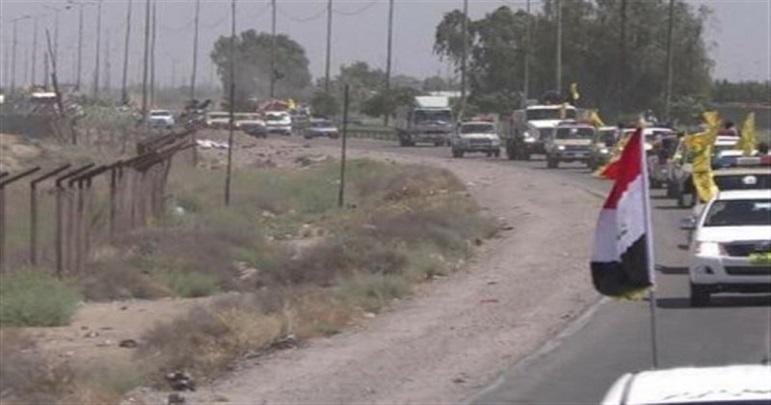 عراق-شام کی سرحد پر ہوائی حملہ، حشد الشعبی کی دو گاڑیاں تباہ
