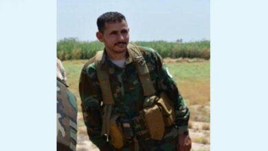 عراق کی عوامی رضاکار فورس الحشد الشعبی کا کمانڈر شہید