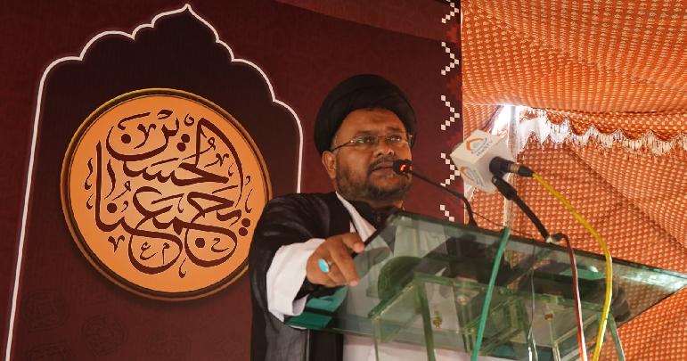ملت تشیع اپنے حقوق سے کسی صورت دستبردار نہیں ہوگی، علامہ ناظر تقوی
