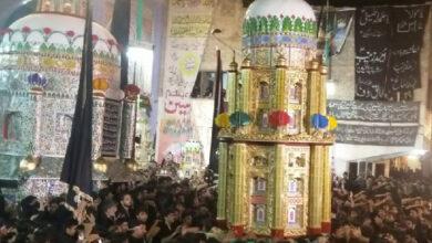 ڈی آئی خان، چہلم امام حسینؑ کے جلوسوں کا آغاز ہوگیا