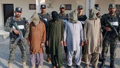لاہور بڑی تباہی سے بچ گیا، چہلم کے جلوس پر حملے کی تیاری کرنے والے 4 دہشتگرد گرفتار